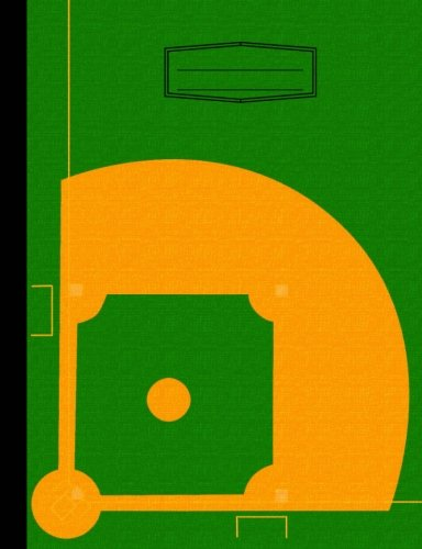(Baseball Composition Notebook: Wide Ruled, Sports Theme, Lined Writing Journal, Softcover, 100 sheets/200 pages, 9 3/4