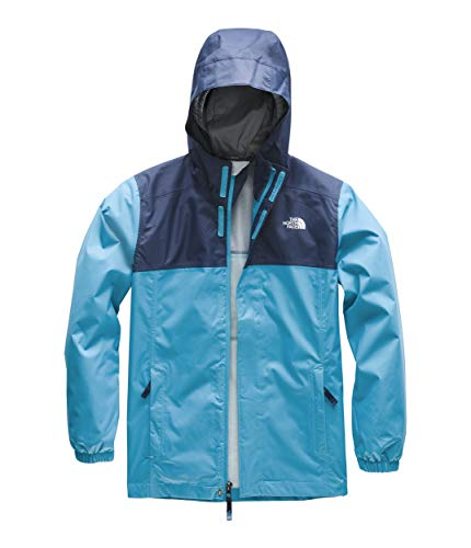 The North Face Kids Boy's Resolve Reflective Jacket (Little Kids/Big Kids) Caribbean Sea X-Large