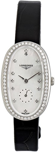 Longines-Symphonette-Medium-Steel-Diamond-Womens-Strap-Watch-L23060870