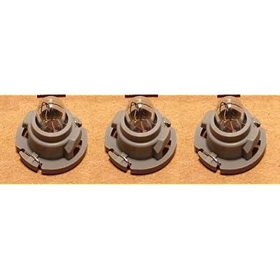 Dash Light Bulb Kit compatible with Dodge Ram Dakota 1500 2500 3500 Heater A/c Climate Control (Set of 3 Bulbs) : Automotive [5Bkhe0112697]