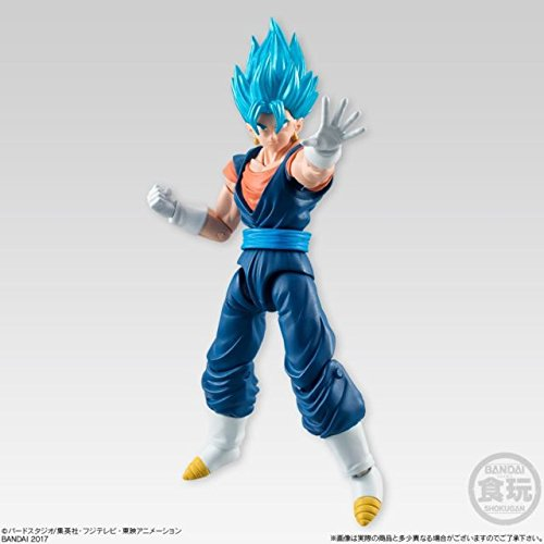 Bandai Action Figures Toy - Bandai Shokugan Shodo Part 5 Dragon Ball Z vegitto Action Figure