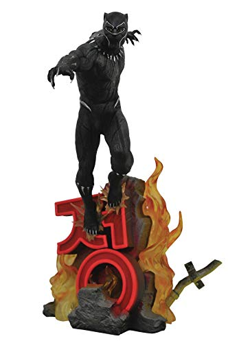 (DIAMOND SELECT TOYS Marvel Premier Collection: Black Panther Movie Resin Statue)