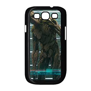 Guardians of the Galaxy samsung s3 9300 Black White Phone Case Gift Holiday &Christmas Gifts& cell phone cases clear &phone cases protective&fashion cell phone cases NYRGG69702043