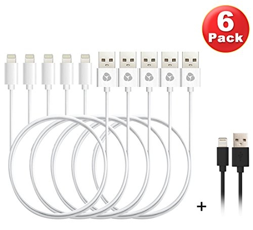 Cheap Cables Antopos iPhone Charger 3 Feet Lightning Cable Sync and Charging Cord for..