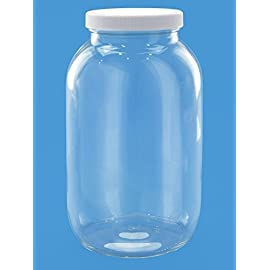 Fermentation Jar - Pick Your Size 69 Crystal clear storage for dry or liquid products. USDA certified food grade and FDA Compliant healthy and economical alternative to storing your liquids in plastic Jars withstand extreme temperatures of 0° to 930°F,can be sterilized or washed in very hot water; dishwasher safe