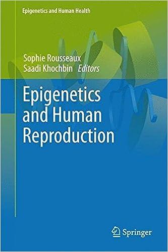 Book Epigenetics and Human Reproduction (Epigenetics and Human Health)