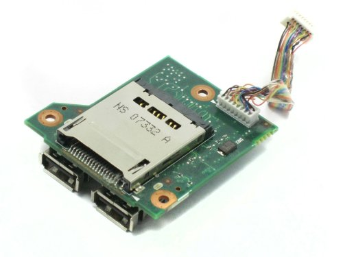 HP Compaq 6715B USB Media Card Reader Board 443883-001