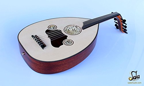 Turkish Professional Half Cut Electric Oud Ud String Instrument by SALA