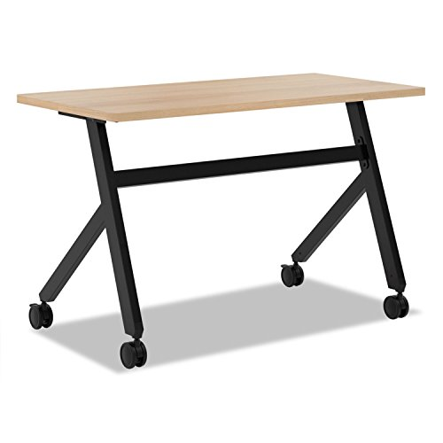 - Multipurpose Table Fixed Base Table, 48w x 24d x 29 3/8h, Wheat - by Reg