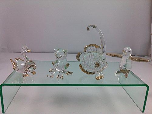 [SUPAK® 4pcs Random/lot Glass Blown Art Hand Dollhouse Miniatures Animal Figurine Decor Handcrafted Handmade Blown] (Gogo Big Hero Six Costume)