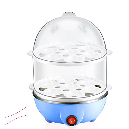 Amyove Egg Steamer Egg Poacher,Stainless Steel Multifunction