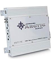 Pyramid PB717X 1000-Watt Two-Channel MOSFET Arctic Series Amplifier