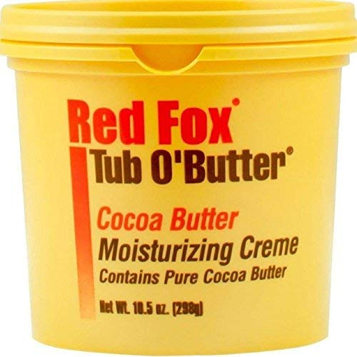 Red Fox Tub O'Butter Cocoa Butter, Moisturizing Creme, 14 oz (Pack of 2) ()