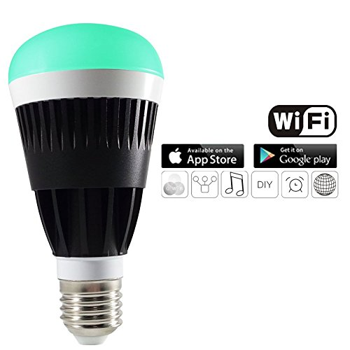 Kourion Magic Wifi Led light bulb, wifi enabled & smartphone controlled Multi-coloured LED...
