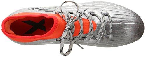 adidas Rendimiento Hombre x 16.2FG Fútbol Zapatos Silver Metallic/black/infrared