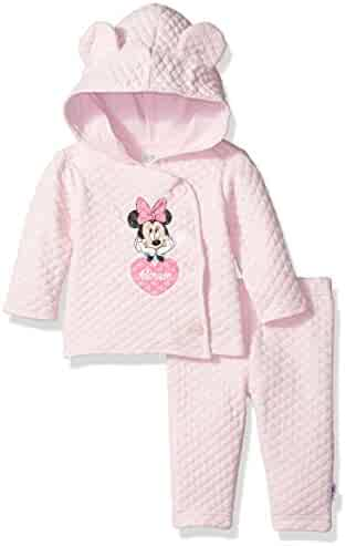 Disney Baby Girls' Minnie Mouse 2 Piece Jacket with Ears Set