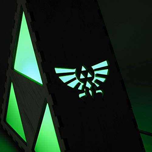 41xZMeP%2BEcL - Zelda Triforce Lamp