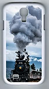 Train Hard Cover Back Case For Samsung Galaxy S4,PC Fashion White Case for Samsung Galaxy S4 hjbrhga1544