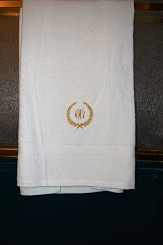 Personalized Bath Towel Embroidery and Monogrammed Initials Monogrammed Gifts Christmas Gifts Family