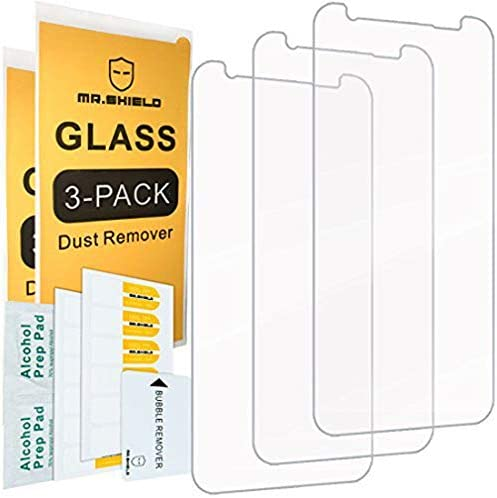 "[3-PACK]-Mr.Shield For Samsung ""Galaxy S8 Active"" [Not Fit For Galaxy S8 Model] [Tempered Glass] Screen Protector with Lifetime Replacement"