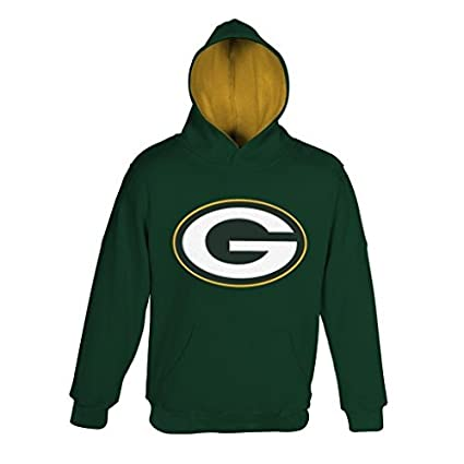 c57fbd14e NFL Youth Boys 8-20 Green Bay PACKERS  quot PRIMARY quot  PULLOVER HOODIE -