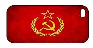 Soviet Union USSR Flag iPhone 5 Premium Plastic Case, Aluminium Layer, Grunge Image, Shell, Cover Stock 078 by ruishernameMaris's Diary