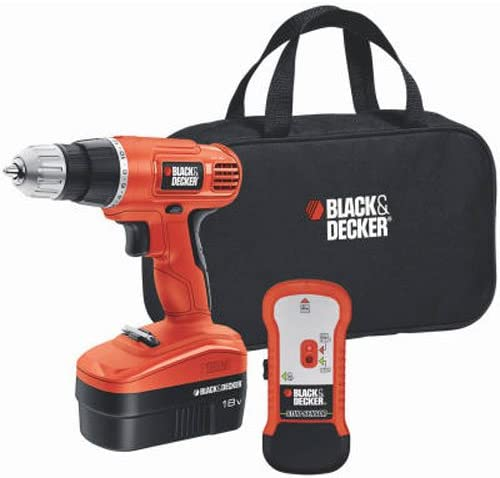 BLACK DECKER 18V Cordless Drill Driver Variable Speed GCO18SFB
