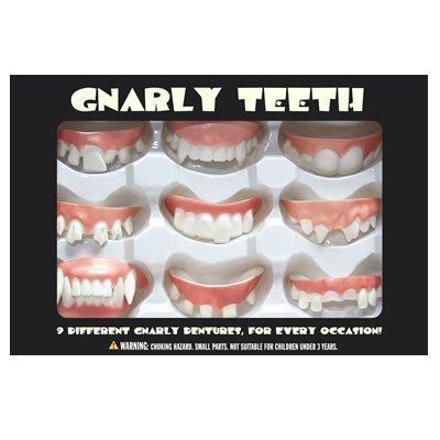 Gnarly Teeth 9 Dentures -