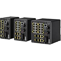 Cisco IE-2000 Ethernet Switch - 8 Ports - Manageable - 10 x RJ-45 - 2 x Expansion Slots - 10/100Base-TX, 10/100/1000Base-T IE-2000-8TC-L