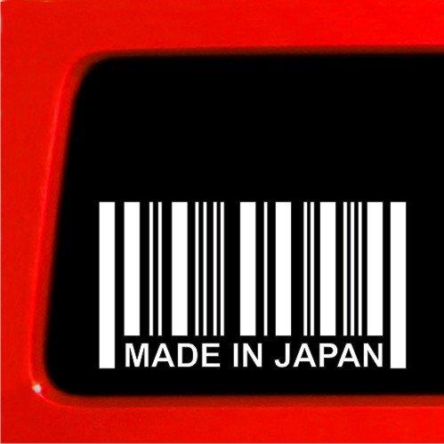 MADE IN JAPAN BARCODE STICKER - Vinyl Decal JDM jdm Vinyl car truck import
