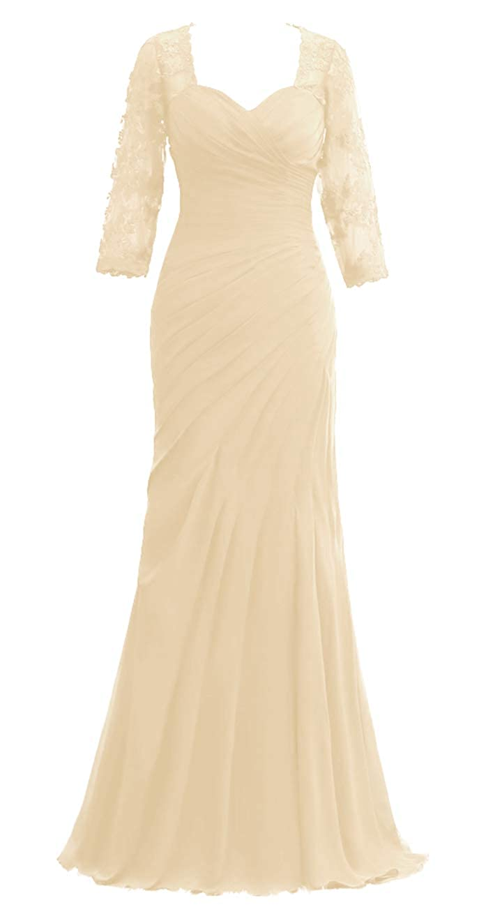 93 JAEDEN Mother of The Bride Dresses Long Sleeves Evening Gowns for Women Formal
