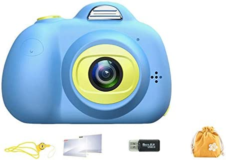 Pinjeer Mini cámara réflex digital para niños Tres tomas ...