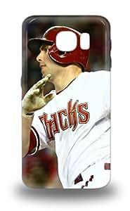 Excellent Design MLB Arizona Diamondbacks Paul Goldschmidt #44 Phone 3D PC Case For Galaxy S6 Premium Tpu 3D PC Case ( Custom Picture iPhone 6, iPhone 6 PLUS, iPhone 5, iPhone 5S, iPhone 5C, iPhone 4, iPhone 4S,Galaxy S6,Galaxy S5,Galaxy S4,Galaxy S3,Note 3,iPad Mini-Mini 2,iPad Air )