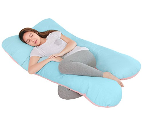 QUEEN ROSE Full Pregnancy Body Pillow Originally with Washable Pillow Outer Cover(Sweet B&P) (Reading Wedge Pillow Cover)