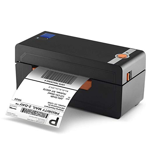 InstaShip Label Printer - Direct High-Speed Thermal Printing - Easy to Setup for Home or Office Use - No Ink Req – Compatible with Amazon, Ebay, Etsy, Shopify – 4×6 Label Printer – 1 Year Warranty by InstaShip
