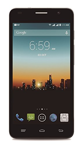 """POSH MOBILE KICK PRO 4G LTE ANDROID GSM UNLOCKED DUAL SIM 5.0"""" HD SMARTPHONE with SLIM 8.6MM design, FULL-sized HD display, 8MP Camera and 8GB of Storage. 1 Year warranty. (Model#: L520 GOLD)"""