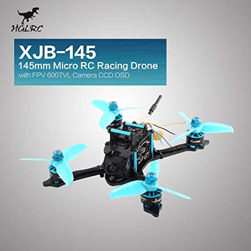 Wikiwand HGLRC XJB-145 145mm Micro RC Racing Drone 5.8G FPV 600TVL Camera CCD OSD PNP by Wikiwand (Image #4)