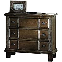 ACME Baudouin Weathered Oak Nightstand