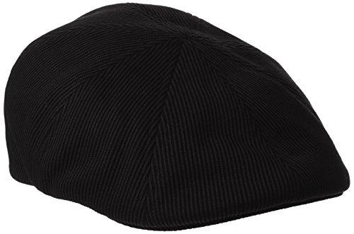 Kangol Men's Stretch Ripley, Black Velvet Cord, Large/X-Large