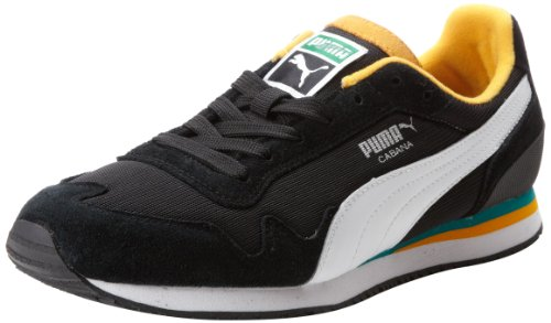 Puma Cabana Mesh Sport Blonder-up Mote Sneaker Svart / Hvit