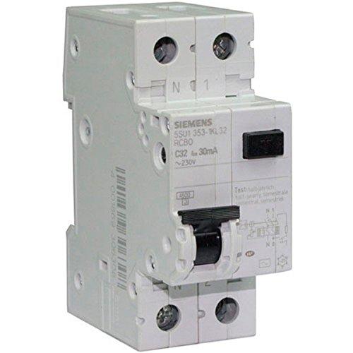 Siemens - Disjoncteur diffé rentiel é lectrique 30 mA 32 A Type AC