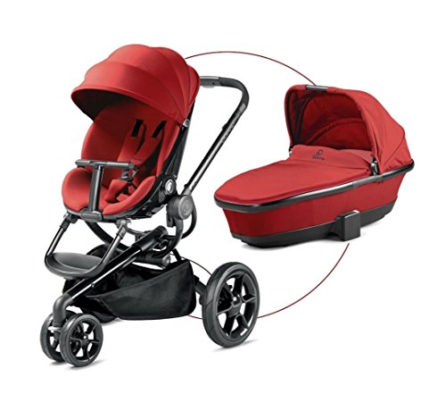 Quinny Moodd - Pushchair - Carrycot For Free - Red Rumour