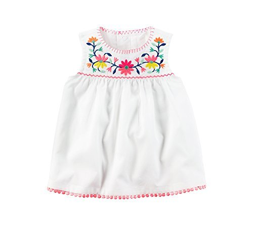 Carter's Baby Girls' Embroidered Top 12 Months