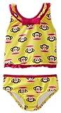 Paul Frank Baby Girls' Tankini Swimwear, Yellow