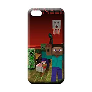 iphone 5 5s Collectibles Retail Packaging Protective Cases phone cover shell Minec Raft