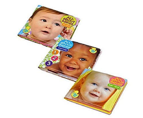About Colour - Bath Time Bubble Books All About Babies Counting! Baby Face! Colors!