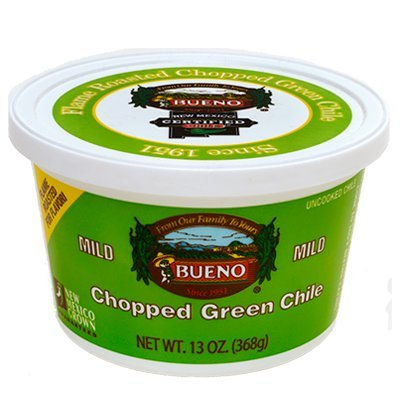 Green Chile Diced, Mild (6) 13oz tubs