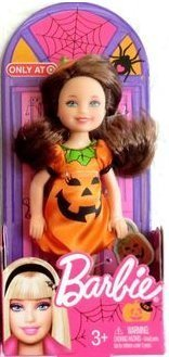 Barbie Halloween 2013 Kelly Chelsea Doll - Pumpkin