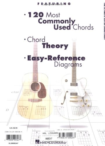 The Ultimate Guitar Chord Chart: Hal Leonard Corp.: 0073999953473 ...