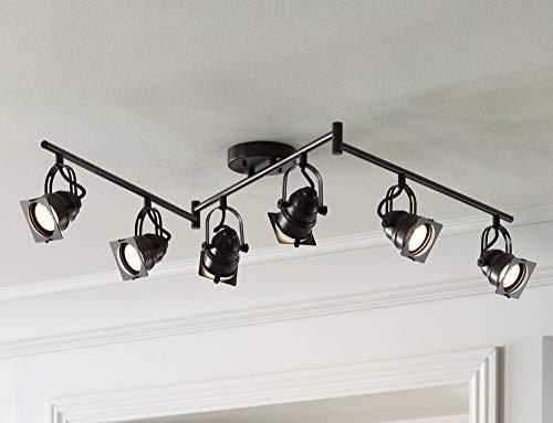 Hamilton 6-Light Bronze Swing Arm LED Track Light Kit - Pro Track by Pro Track (Image #8)